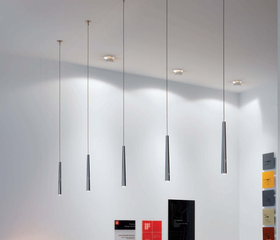 Flute Metall Pendant light by STENG LICHT | General lighting