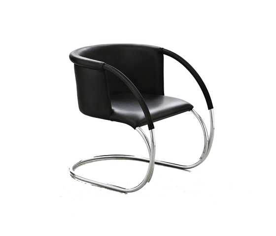 ML 33 Leather Black by by Lassen   Lounge chairs
