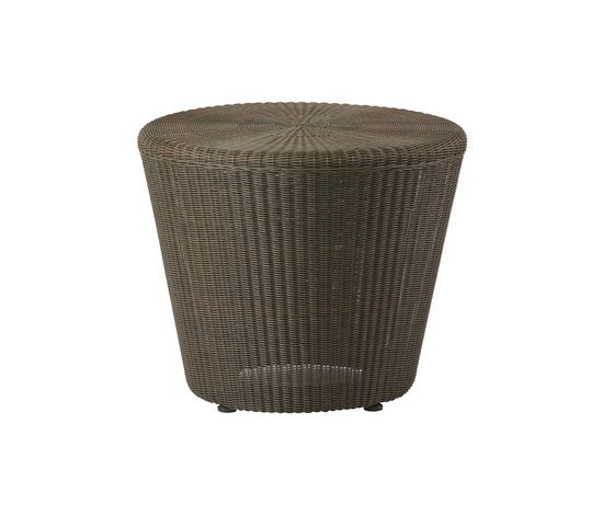 Kingston Footstool/Side Table by Cane-line | Garden stools