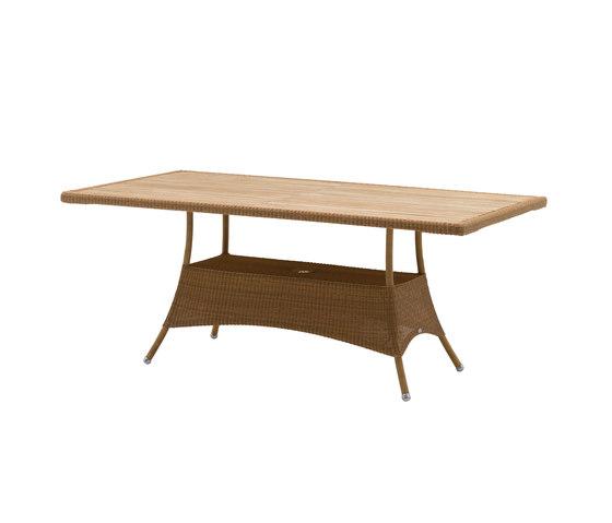 Lansing Tisch von Cane-line | Garten-Esstische