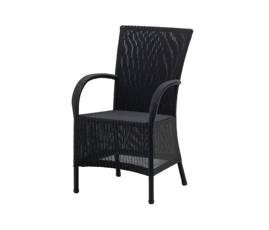 Mayfair Dining Chair with armrest by Cane-line | Garden chairs