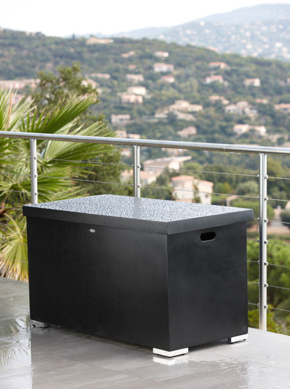Skye Cushion Box by Cane-line | Garden storage