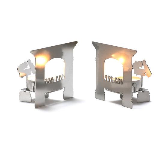 Mikrokamin (Micro Fireplace) by MOVISI | Candlesticks / Candleholder