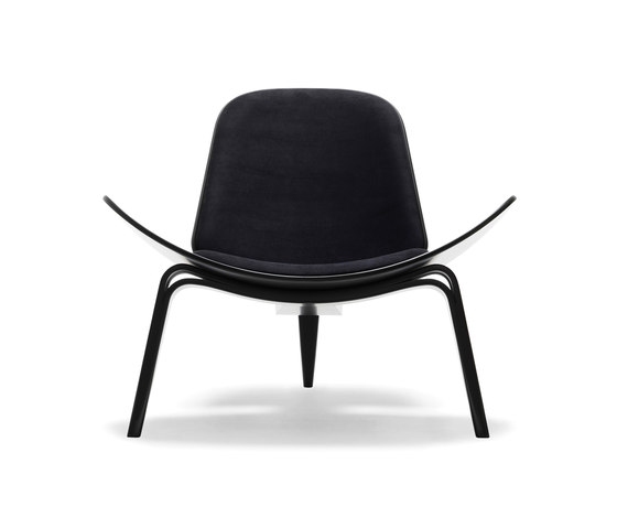 CH07 Shell Chair de Carl Hansen & Søn | Fauteuils d'attente