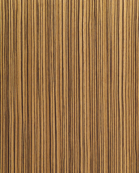 60904 Zebra Straight Grain Wood Veneers From Treefrog