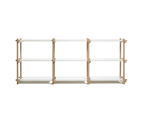 Woody Low by Hay | Shelving systems