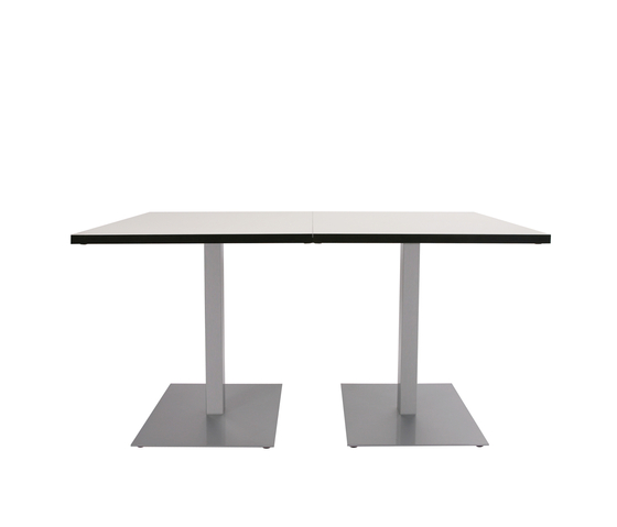 Glooh Rectangular table by KFF | Canteen tables