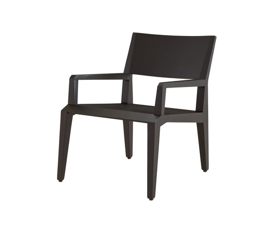 Villa Rose | Armchair Black Stained Ash by Ligne Roset | Armchairs