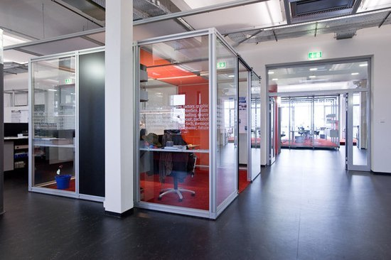 constructiv PILA Office de Burkhardt Leitner | Separación de ambientes