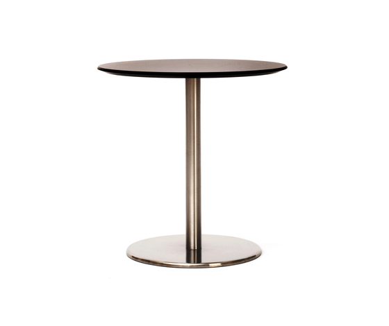 Odette Café Table Round Laminate by Massproductions | Cafeteria tables
