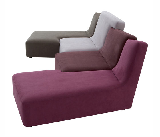 Confluences | Long 4-Seat Settee Multicolour Version by Ligne Roset | Sofas