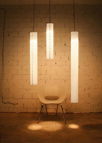 WHITE PENDANT M LED by chameledeon | Suspended lights