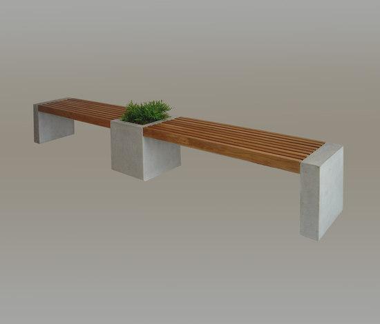 Combi by Skulpturfabriken | Garden benches