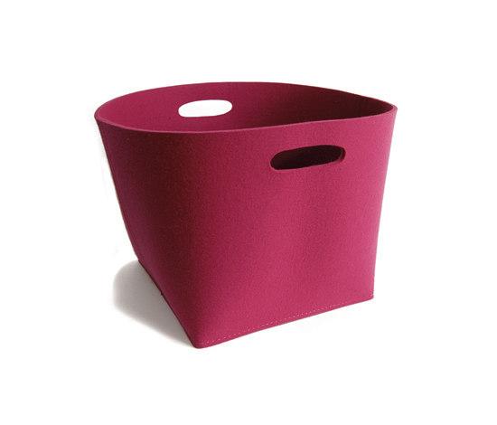 Basket round by PARKHAUS Karp & Krieger Handelswaren | Storage boxes