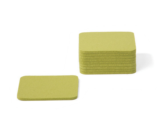Coaster square small by Parkhaus | Coasters / Trivets