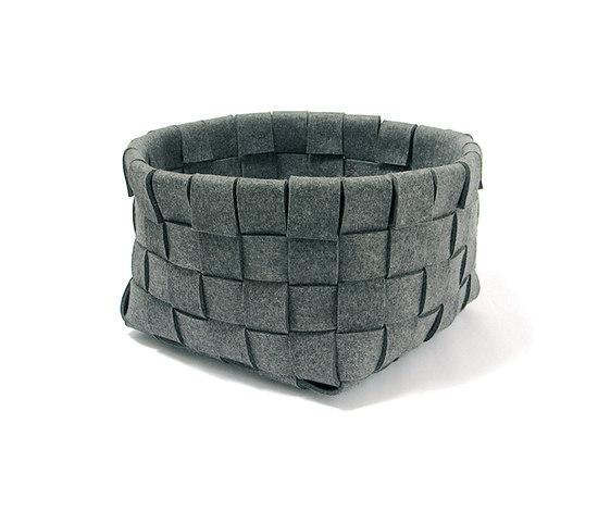 Basket woven large de PARKHAUS Karp & Krieger Handelswaren | Boîtes de rangement