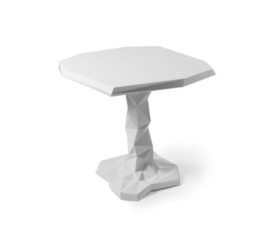Arctic Rock 1 leg table by JSPR | Cafeteria tables
