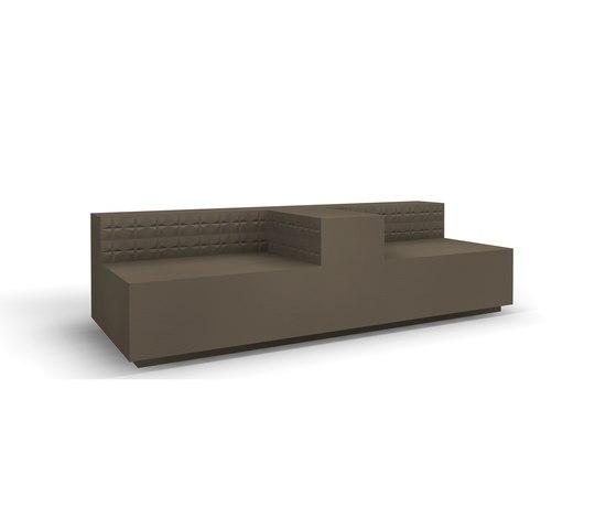 Minimal+ twin sofa di JSPR | Divani lounge