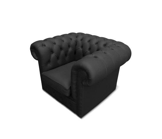 Plastic Fantastic club chair black by JSPR | Garden armchairs
