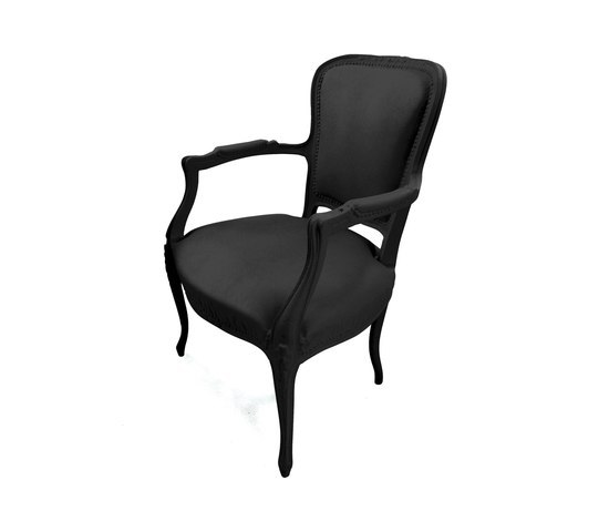 Plastic Fantastic petit toi black by JSPR | Garden armchairs
