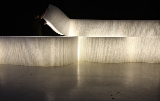 softblock | LED lighting by molo | Space dividers
