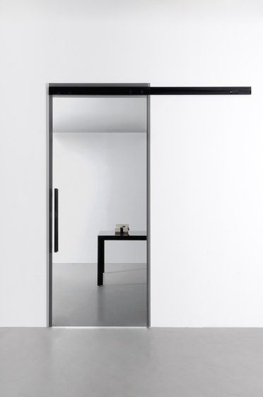 Sail sliding door by Albed | Glass room doors