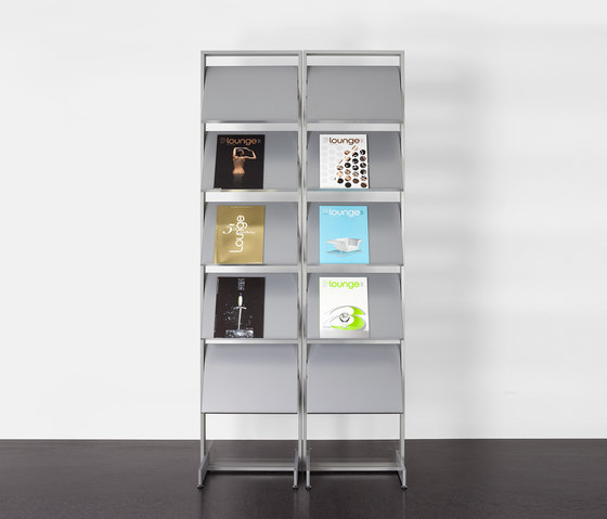 adeco wallstreet 100 by adeco | Brochure / Magazine display stands