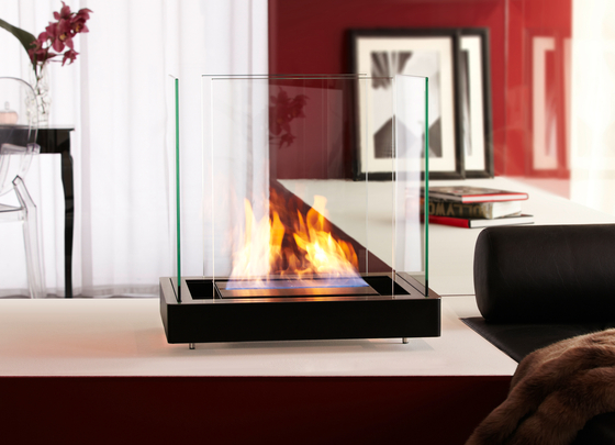 top flame by Radius Design | Ventless ethanol fires