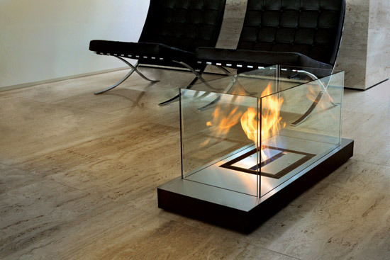 uni flame by Radius Design | Garden fire pits