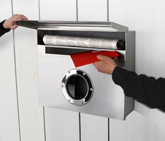 letterman xxl de Radius Design | Boîtes aux lettres