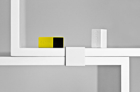 Stacked Shelf System - white* by Muuto | Room dividers