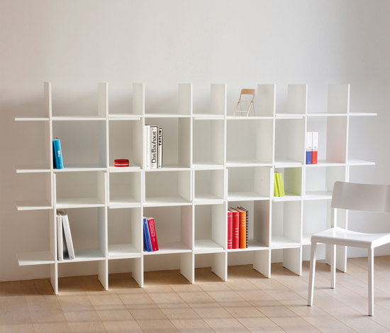 Space Cross by schneiderschram | Office shelving systems