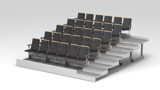 Opus fold by Mobel | Auditorium seating