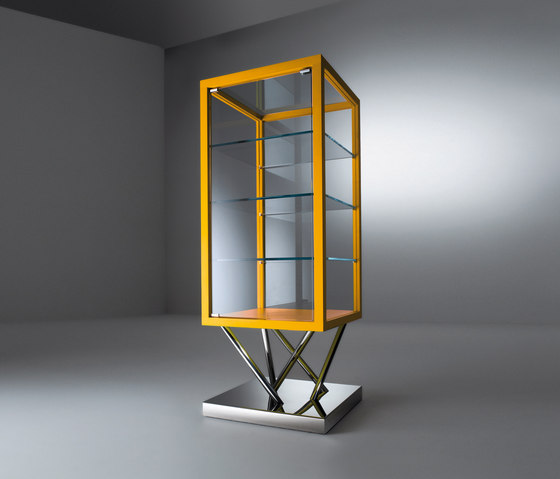 Sottsass | Glass-case SA 30 by Laurameroni | Display cabinets