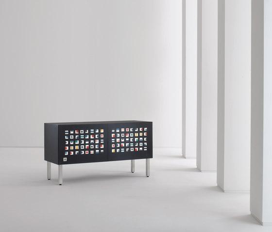 Intarsia | Sideboard Quadratini Magici by Laurameroni | Sideboards