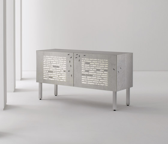 Intarsia | Sideboard Le Formiche Nere by Laurameroni | Sideboards