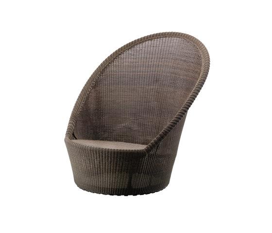 Kingston Sunchair by Cane-line | Garden armchairs