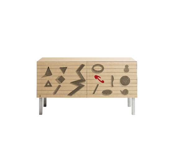 Credenza | Intarsia GEOMETRIE by Laurameroni | Sideboards