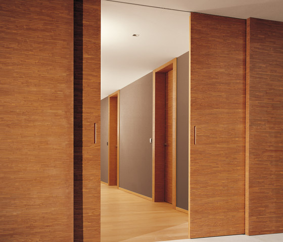 Decor | Sliding Door BD 16 S by Laurameroni | Internal doors