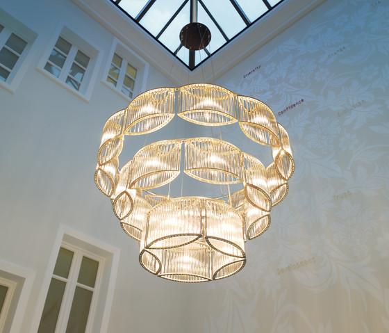 Stilio 11/8/5 Brass de Licht im Raum | Éclairage général