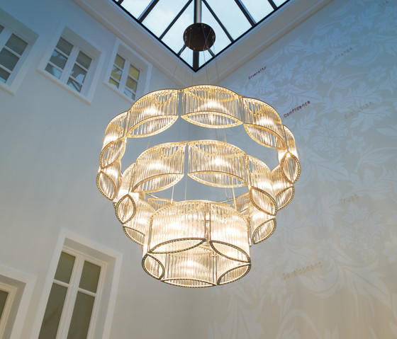 Stilio 11/8/5 Brass di Licht im Raum | Illuminazione generale