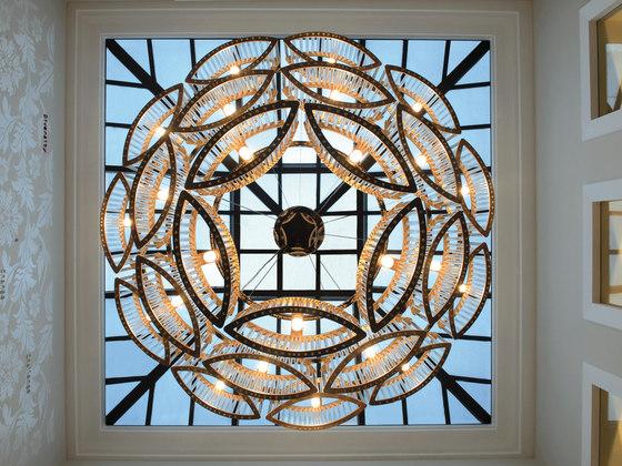 Stilio 11/8/5 Brass by Licht im Raum | Suspended lights