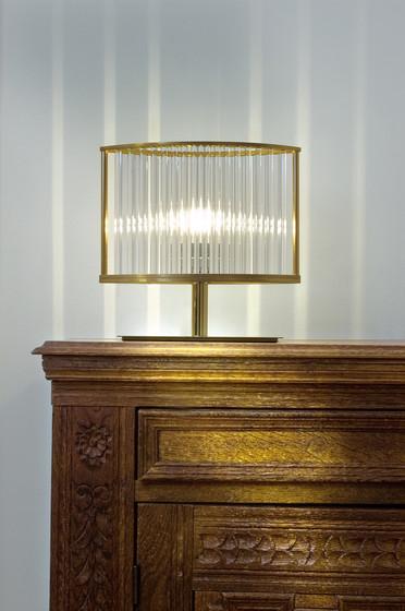 Stilio table lamp pure brass by Licht im Raum | General lighting