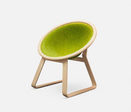 Be Inspireled Easy Chair de Green Furniture Concept | Fauteuils d'attente