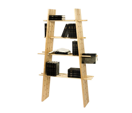 Fiction Bookshelf di Green Furniture Concept | Sistemi scaffale