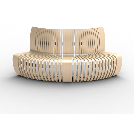Multi C de Green Furniture Concept | Éléments de sièges modulables