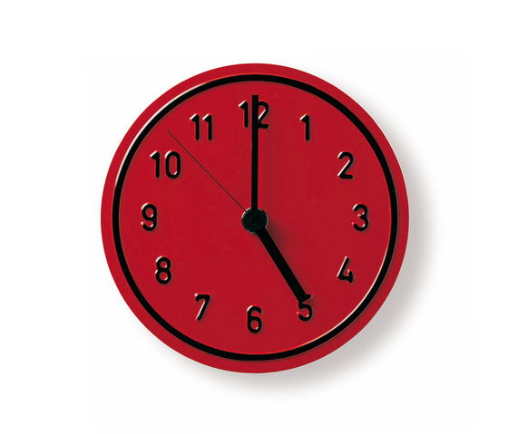 Alu Alu wall clock by Richard Lampert | Clocks
