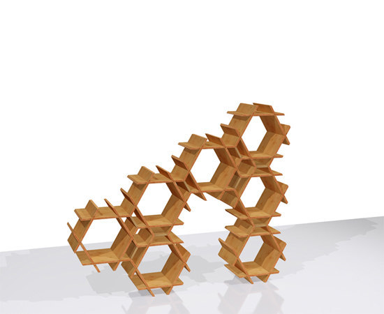 Seven by Stickbee | Shelving modules
