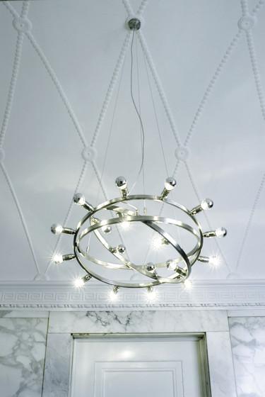 Dione 550 move brushed di Licht im Raum | Illuminazione generale