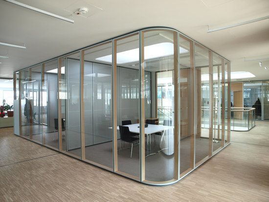 TS1 Aluminium by Scheicher.Wand | Wall partition systems